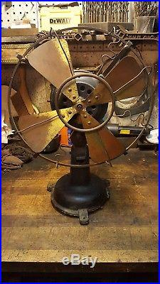 Antique Fidelity Electric Oscillating Fan Lancaster Pa. Project