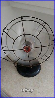 Antique GE General Electric Fan 5 Blades  Works 12 in Vintage GE Fan