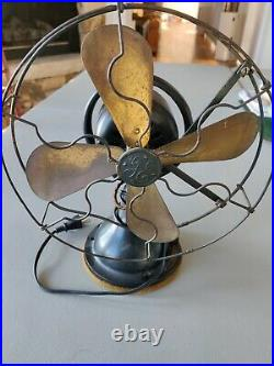 Antique GE General Electric Type AOR, form W1 collectible fan