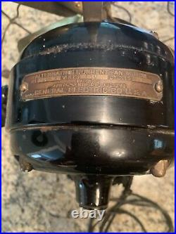 Antique General Electric Cast Iron Desk Fan