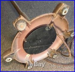 Antique General Electric Pre War Art Deco Vortalex Oscillating Pedestal Fan