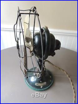 Antique General Electric Whiz Oscillating 9 Fan