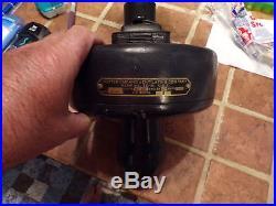 Antique Hunter Ceiling Fan Vent Co R-36 36 Wide 20 Tall 2 Spd Cast Iron HEAVY
