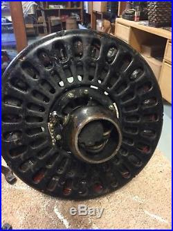 Antique Hunter Fan & Motor Company Ceiling Fan C17 Beautiful! Nice Blades