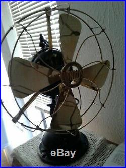 Antique Jandus C Frame Fan. Restored working great