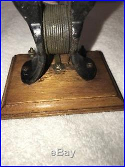 Antique Knapp Type Bipolar type B Motor Dc 6V 1898 Edison/Tesla era
