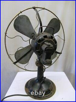 Antique Marelli Estivo Table Fan The English Electric Company Ltd Made In Italy