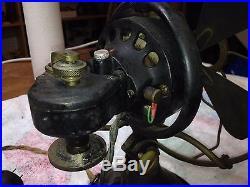 Antique Menominee Oscillating Fan