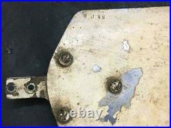Antique Old Original Rare Mareli Ceiling Fan With 3 Unique Blades, Made In Italy