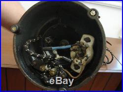 Antique Pancake Motor General Electric Fan, Brass Blade Pat. 1901 Type AK Form D