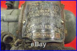 Antique Pat Dated 1900 Bi-Polar Motsinger Elec Device Co Sparker Dynamo