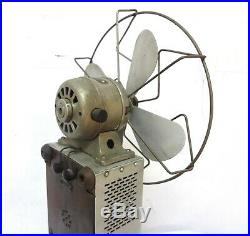 Antique & Rare German Electric Fan & Ozonizer Made In Aluminium & Working See