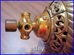 Antique Rare Robbins and Myers Direct Current Ornate Ceiling Fan A108 110 Volts