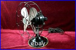 Antique Robbins & Myers Fan 3 Speed Original Paint Oscillating Beautiful Working