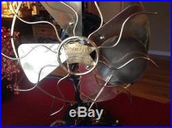 Antique Robbins & Myers Standard'Lollipop' Oscillating Fan -Mostly Original