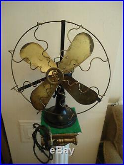 Antique SIEMENS & SCHUCKERT 1920/30s German Large Fan Art Deco Industrial Design
