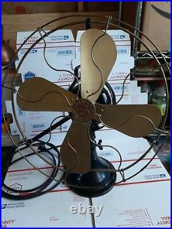 Antique Sprague Oscilating Fan 16