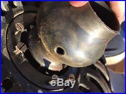 Antique Tuerk Hunter Type C Vintage Ceiling Fan RARE Restoration Project
