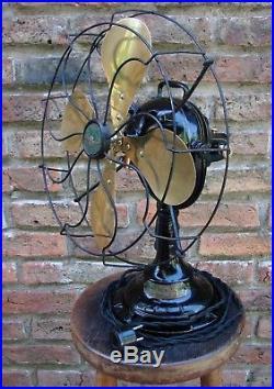 Antique Veritys Twin Levers Orbit Electric Fan England