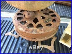 Antique Vintage 1910s 20s Emerson Cast Iron Ceiling Fan Parts or Resto