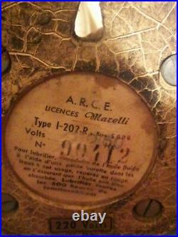 Antique Vintage Electric Fan 1950's Marelli for Martini rare! No restored