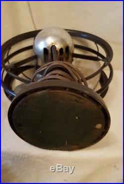 Antique / Vintage Electric Fan (Emerson Silver Swan)