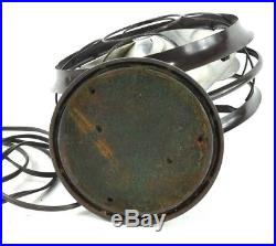Antique Vintage Emerson 12 Silver Swan Electric Oscillating Desktop Fan ArtDeco