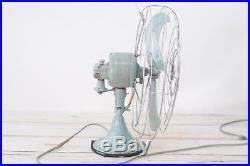 Antique/Vintage GE General Electric 16 Table Fan F13V164 Runs