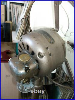 Antique Vintage GE Standing 2 speed Floor Fan 30s 40s Art Deco