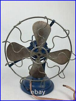 Antique Vintage Marelli Universale Electric Fan Inclinable English Electric Co
