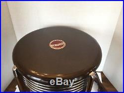 Antique Vintage Robbin & Myers Breeze-All Deluxe Hassock Fan Art Deco NICE