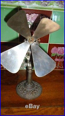 Antique Vintage Socket Electric Fan with base