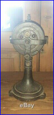 Antique Vintage Spring Wound Mechanical Fan