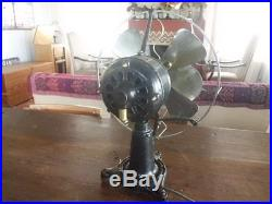 Antique Vintage The Standard Lollipop Robbins & Myers Electric Fan 12 inches