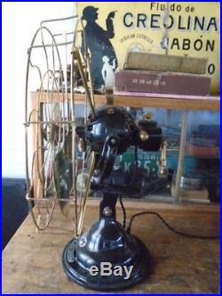 Antique Vintage Verity´s Orbit Electric Fan 220 v