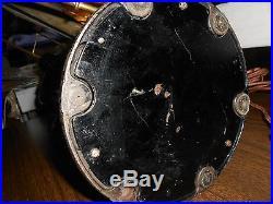 Antique Vtg 4 Brass 16 Blade & Cage General Electric GE Electric Fan Works