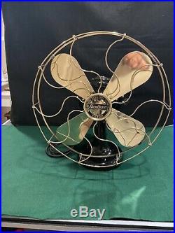 Antique Western Electric Hawthorn Victor Fan, 16 Circa 1906 Vintage