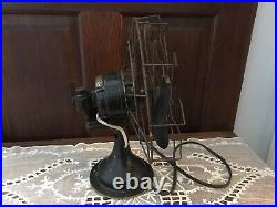Antique Westinghouse 10 Oscillating Fan Works Great