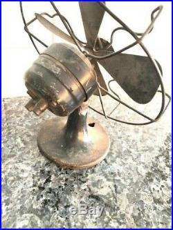 Antique Westinghouse Electric Non-Oscillating 8 inch Fan 1934