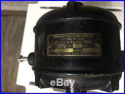 Antique Westinghouse Electric Tank Fan