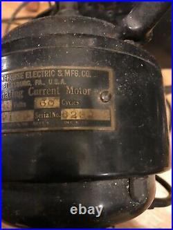 Antique Westinghouse Oscillating Desk Fan
