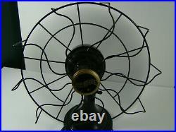 Antique Westinghouse Oscillating Desk Fan 11 inch