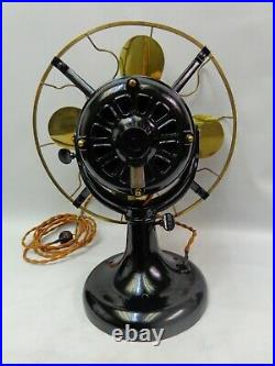 Antique Westinghouse Tank fan 12 brass & Cage Vintage centrifugal start switch