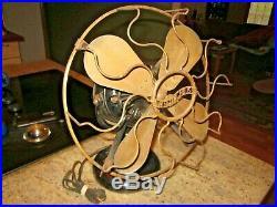 Antique Westinghouse tank fan 60677 wavy wire logo 12