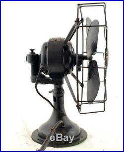 Antique Westinghouseb 12 Oscillating Fan Style No. 315745 With Box RARE
