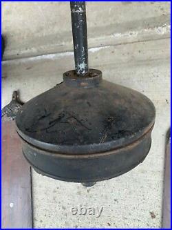 Antique century electric ceiling fan cast iron 1914 patent