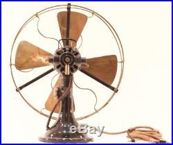 Antique electric fan BERGMANN BERLIN type UF 3 (Germany, about 1920)