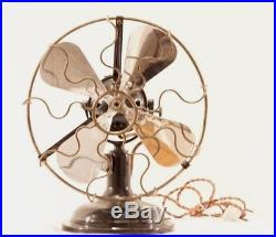 Antique electric fan ORION MARELLI (Italy 1915-1920)