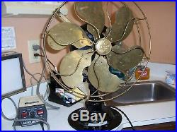 Antique emerson electric fan model 16666