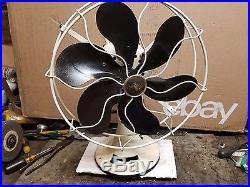 Antique emerson fan 71666 steel blade